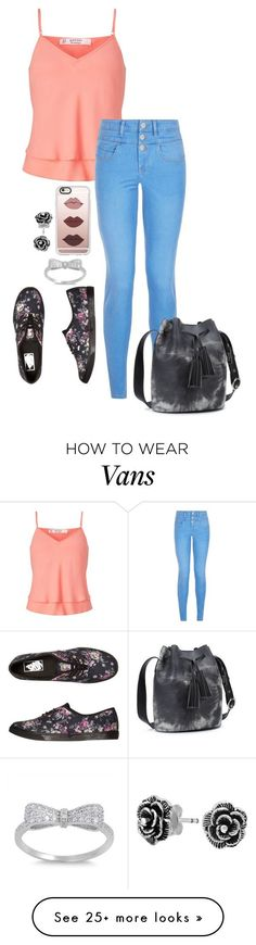 """Untitled #228"" by beck133 on Polyvore featuring Miss Selfridge, New Look, Vans, Casetify and Bling Jewelry"