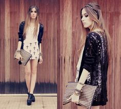 Black or white (by Flávia Desgranges van der Linden) http://lookbook.nu/look/3801813-black-or-white