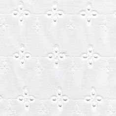 Broderie anglaise blanche France Duval Stalla
