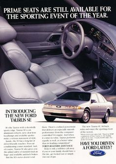 1994 Ford Taurus SE Ad.