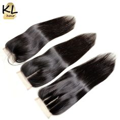 4x4 Peruvian Straight  Lace Closure 7A Bleached Knot Free Middle 3 Side Part Closure Peruvian Virgin Hair Lace Closure