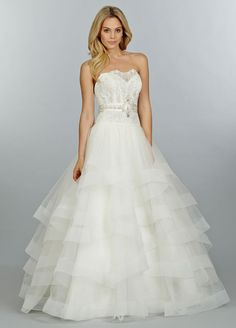 A little princessy / saccharine but I kind of love it, especially with added cap sleeves / straps. Tara Keely - Style tk2456