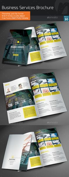 Business Services Bifold Brochure V30