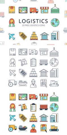 Logistics Vector Free Icon Set is a useful thematic set Design Ios, Flat Design Icons, Icon Design, Drawing Journal, Doodle Art Journals, Icon Set, Logistics Logo, Design Thinking, Doodles