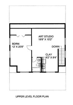 Home Plan: - Upper Level Floor Plan Rv Garage, Garage Apartment Plans, Garage Apartments, Garage Ideas, Custom Home Designs, Custom Homes, Garage Design, House Design, Prefab Garages