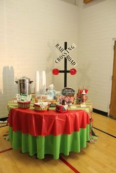 polar express decorating ideas | Polar Express Party...for the grandkids!