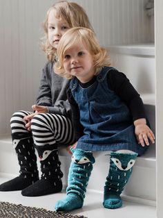 Novita wool socks, Kids fox socks made with Novita Venla yarn - Super knitting Knitting Patterns Free, Free Knitting, Baby Knitting, Free Pattern, Kids Socks, Baby Socks, Fox Socks, Yellow Socks, Crochet Fox