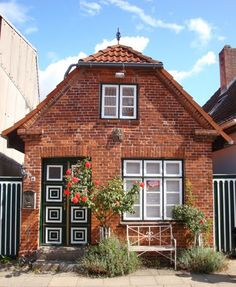 Wonderful old little house in Oldenburg (Holstein), Germany