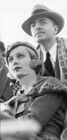 Carole Lombard and William Powell; January 1933