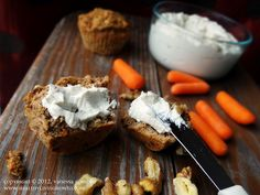 Easy Non-Dairy Cream Cheese Made From Almonds <---seems simple enough, I'll have to try it.