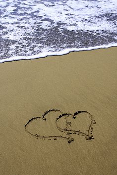 Scribbles in sand