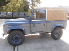 Defender 90, Land Rover Defender, Off Road, 4x4, Monster Trucks, Blue, Motorcycles, Cars, Offroad
