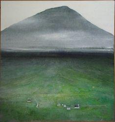 Færøerne - www.albertbertelsen.dk Abstract Landscape Painting, Landscape Paintings, Abstract Art, Big Bucket, Alternative Art, Faroe Islands, Pattern Art, Denmark, Surrealism