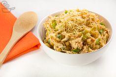 Receita fácil de salpicão levinho do Naminhapanela.com | Receitas e Gastronomia