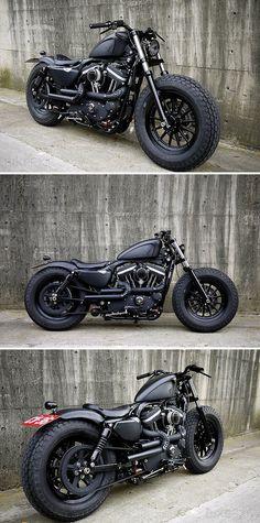 Harley Davidson Sportster-2009 #motocycles #motos #custom | caferacerpasion.com
