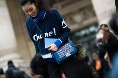 Street Style: From Outside the Spring 2014 Couture Fashion Shows