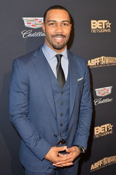 attends the 2016 ABFF Awards: A Celebration Of Hollywood at The Beverly Hilton Hotel on February 2016 in Beverly Hills, California. - 12 Photos of Omari Hardwick Being Humble and Sexy At the Same Time Fine Black Men, Handsome Black Men, Omari Hardwick Power, Maisie Richardson Sellers, Black King And Queen, Lead Men, Lab, Taylor Kitsch, Grown Man