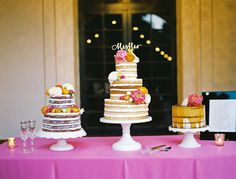 #NakedCakes | Ben Q. Photography | Cakewalk Bake Shop | Holly Viles Design | Uptown Sound | Embrace the Day Events | Concepts by Anastasia | Gil's Elegant Catering | Dallas Arboretum #DallasWedding