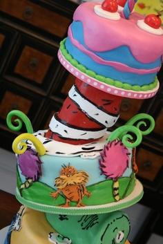 Dr. Seuss Cake!!! :)