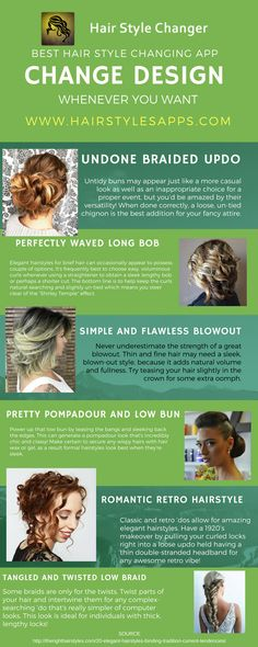 50 Awesome Best Hairstyle App