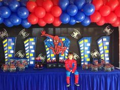 Cool Spider Man party!