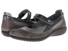9ae2d4c6fa1 Naot footwear kirei sterling leather gray shimmer leather gray patent  leather