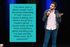 9 Hilarious Aziz Ansari Jokes That Prove He Just Gets Us Aziz Ansari, Make Em Laugh, Laugh Out Loud, Haha Funny, Hilarious, Funny Stuff, Funny Shit, Random Stuff, Quotes Distance