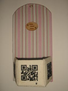#www.qr-3d.weebly.com #qr #3d #code #crossstitch #embroidery QR Code
