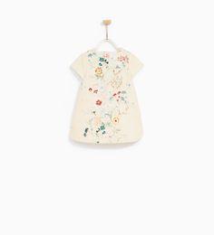 ZARA - KIDS - BOTANICAL DRESS