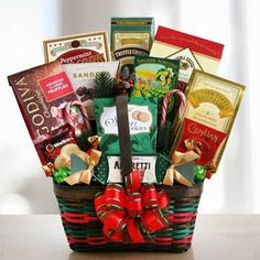 Holiday Gourmet Gift Basket.  See more at www.pro-gift-baskets.com!
