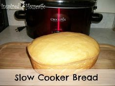 Who Knew? Gluten Free Bread in a Crock-Pot