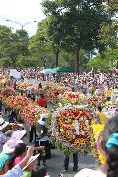 Feria de Las Flores. Medellin, Colombia