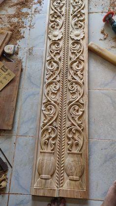 Wooden Front Door Design, Wooden Front Doors, Main Door Design, Wood Doors, Temple Design For Home, Indian Home Design, Pooja Room Door Design, Door Design Interior, Modern Window Grill
