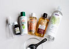 DIY Hydrating Face Serum + Anti-Wrinkle Eye Oil