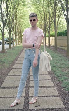 Elliot Alexzander A Gender Fluid Fashion Blogger Ugh So