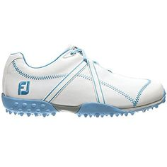 half off 3ee17 c52a8 FootJoy M Project Spikeless Golf Shoes 2014 Ladies WhiteLight Blue Medium  65 -- Want additional