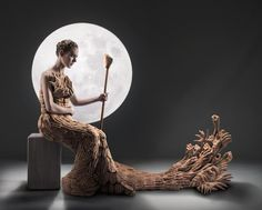 Incredible Photo Featuring A Dress That Seems To Be Made Entirely Of Human Hands - DesignTAXI.com