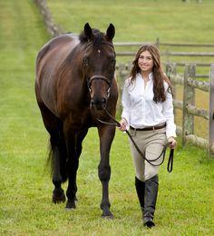 Girl with her horse | Deborah Kalas Portrait Photography