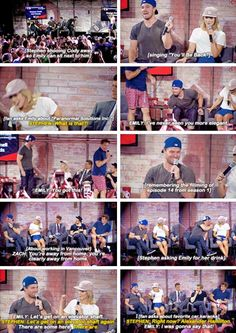 """Best of Stephen & Emily at the #NerdHQ panel """"A Conversation with Stephen Amell and Friends."""""""