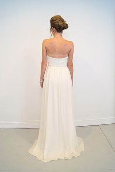 soft, flowy, a-line wedding gown -- Spring | Emily Kotarski Bridal CS