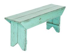 The Caribbean Green Entryway Bench from the Province Collection. – A great entryway bench to your mudroom or foyer. Farmhouse Bench, Rustic Bench, Diy Bench, Rustic Farmhouse, Entryway Bench, Farmhouse Style, Bench Mudroom, Wooden Benches, Painted Benches
