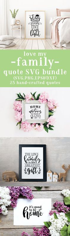25 Family quotes SVG cut file bundle compatible with Cricut Cameo Silhouette or other major cutting machines! Love My Family Quotes, Home Quotes And Sayings, Beach Quotes, Diy Cutting Board, Vinyl Cutting, Die Cutting, Cutting Files, Electric House, Cricut Tutorials