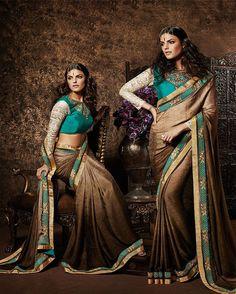 Luscious Brown Shaded Jacquard Saree Product Code: 2194 Shop Now : http://www.shivoham.biz/product_info.php/manjaree/designer-saree/luscious-brown-shaded-jacquard-saree-p-1259 Call Or WhatsApp - 09712933378 Email - Care@shivoham.biz