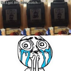 Pebble Watch Does Not Disappoint #Mario