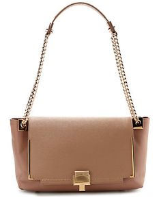 "LANVIN ""Partition"" Leather Shoulder Bag"