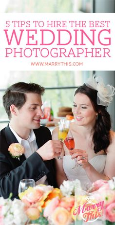 How to Hire the Best Wedding Photographer for you. Click here to read: http://www.marrythis.com/?p=4489 #weddings #photography