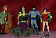 Remember when Batman AND Weird Al Yankovic helped the Scooby Doo Mystery Gang? | The Greatest Unexpected Team-Ups Of Our Childhoods