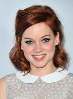 Jane Levy Medium Wavy Cut