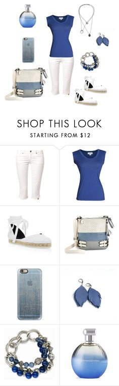 """Untitled #355"" by chernjay ❤ liked on Polyvore featuring Edc By Esprit, Velvet by Graham & Spencer, Pierre Hardy, Casetify, Catherine Malandrino and Maison Margiela"