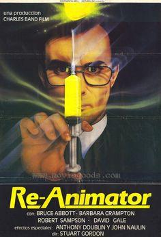 Re-Animator (Spanish) 27x40 Movie Poster (1985)